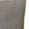 Fotografía ampliada cojín adele vivaraise crochet color gris. Cojín sobre fondo blanco. 738x984