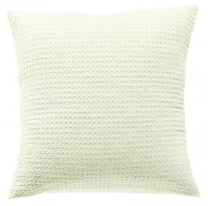 Cojin maia vivaraise 45x45 color natural. Cojín sobre fondo blanco. 800x793