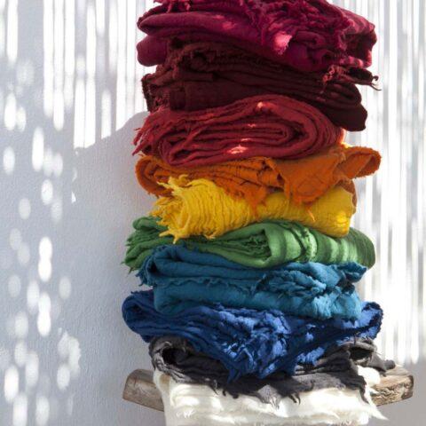 colorido del plaid vivaraise leto