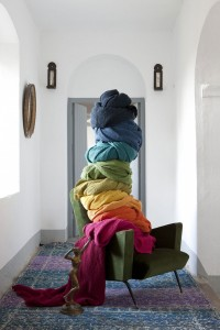 plaid algodón maia