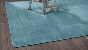 alfombra vintage epok color azul de kp alfombras a medida
