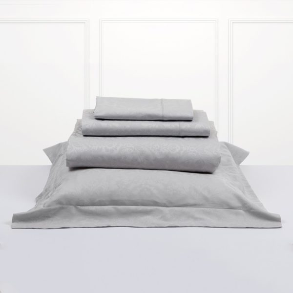 Juego de sábanas Bassols jade en color gris