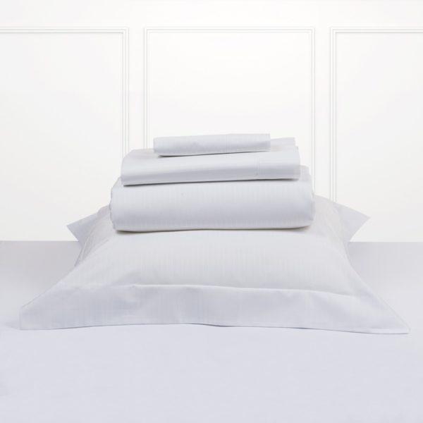 Juego de sábanas bassols luxor color blanco