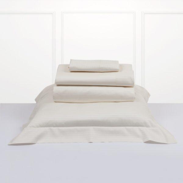 Juego de sábanas bassols luxor color marfil