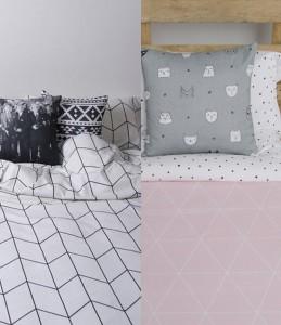 Ropa de cama estilo nordico
