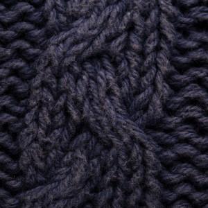 Cojín algodón laman azul