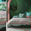Ambiente con cama vestida con funda nórdica Kas Australia Selena
