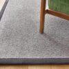 detalle ampliado de alfombra de lana kansei kp alfombras a medida