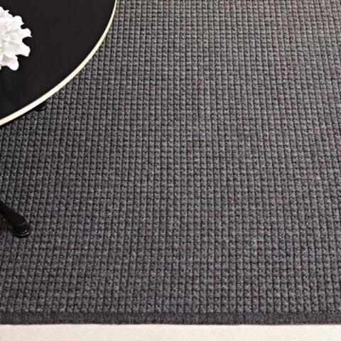 detalle ampliado de alfombra de lana a medida trikot kp alfombras a medida