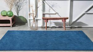 alfombra de pelo largo azul i love it azul kp alfombras a medida