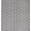 alfombra de diseño geometrik de kp color negro