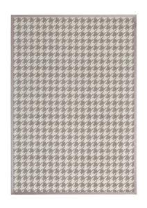alfombras de diseño geometrik kp pata de gallo color piedra