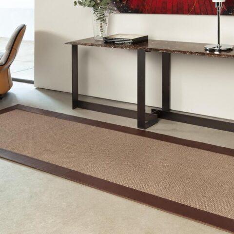 alfombras de sisal yukionna alfombras kp fibras naturales en un recibidor