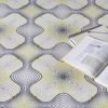 alfombra KP Pappenpop con dibujos geométricos