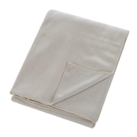plaid zoeppritz fleece en color gris