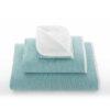 juego de toallas de baño graccioza double color azul