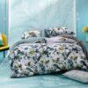 Ambiente con cama vestida con funda nórdica Kas Australia quala