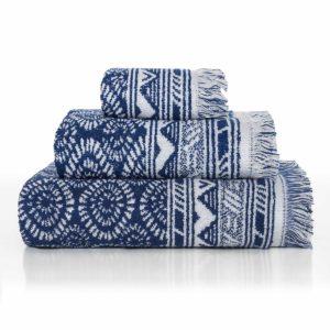 juego toallas baño sorema indigo