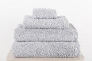 juego de toallas de baño sorema new plus color silver