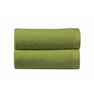 juego de toallas de baño sorema new plus color pistacho