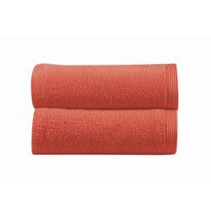 juego de toallas de baño sorema new plus color coral
