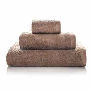 juego de toallas de baño sorema new plus color taupe