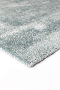 Acabado de alfombra ligne pure current blue green