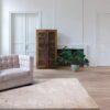 Salon con alfombra osta native 460.04
