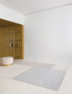 Salón con alfombra Osta Native 460.29.990