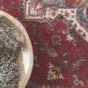 detalle de alfombra osta diamond 4354.300