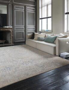salón con alfombra Belize 72.412.100
