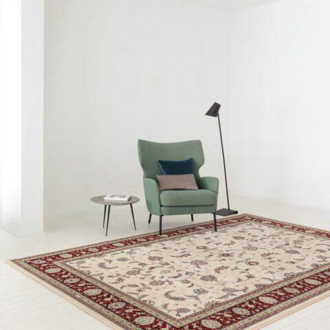 Sala de estar con alfombra Osta Diamond 72.44.104