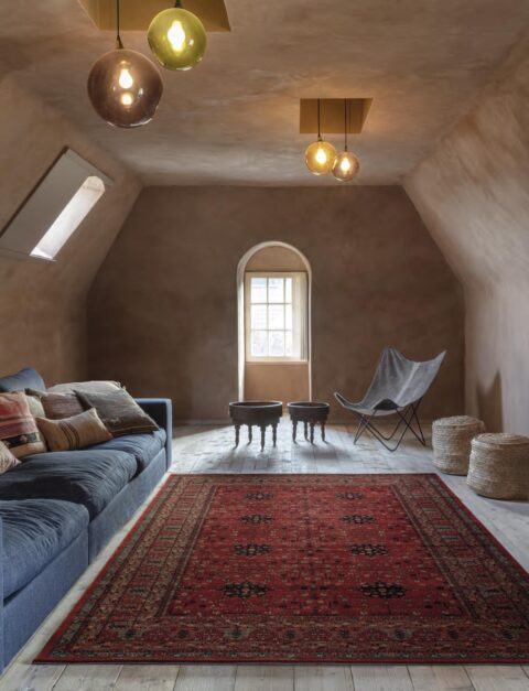 Sala de estar con alfombra Osta Kashqai 4302.300