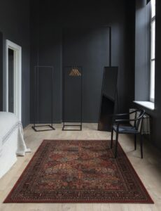 Dormitorio con alfombra Osta Kashqai 4309.300