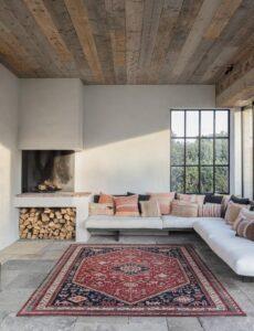 Salón con alfombra Osta Kashqai 4364.301