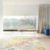 Salón con alfombra osta bloom 466118. AK990