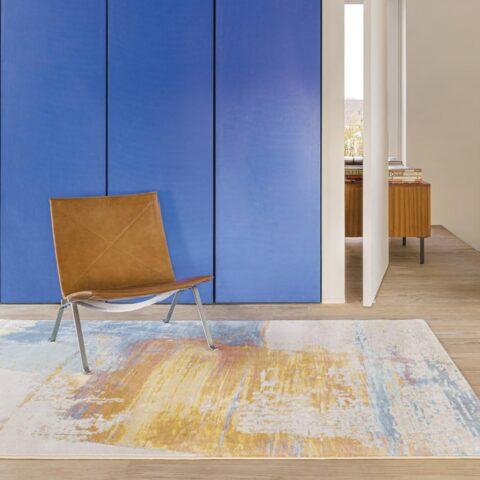 Oficina con alfombra Osta Bloom 466139. AK990