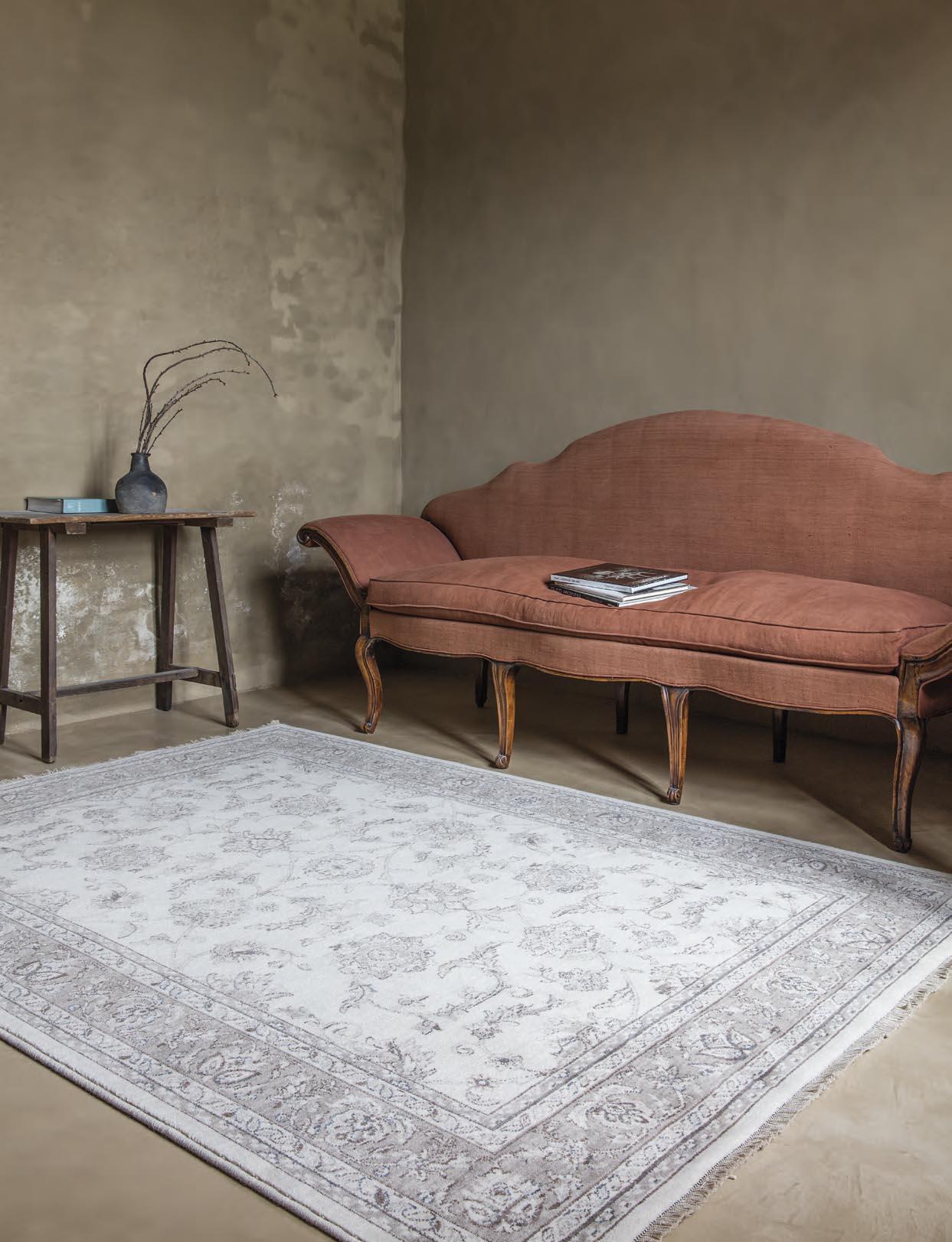 Recibidor con alfombra Osta Djobie 45.17.620
