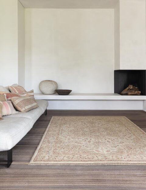 Salón con alfombra Osta Djobie 45.29.101