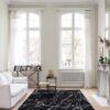 Salón con alfombra Osta Ink 46311AF900