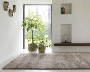 salón con alfombra osta lana 03.01.910