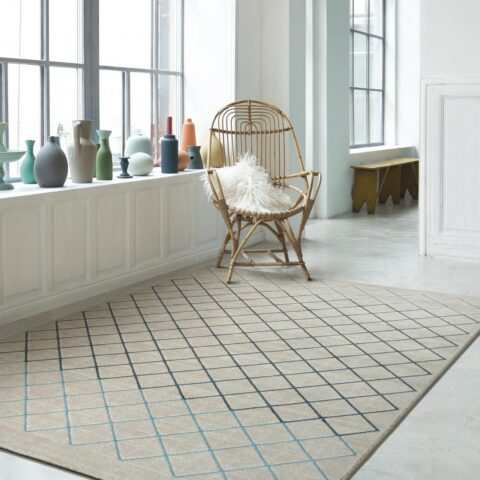 Sala de estar con alfombra Osta patina 41015.100