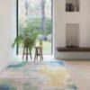 Salón con alfombra Osta Patina 41040. 500