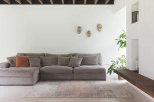 Salón con alfombra osta patina 41048. 002