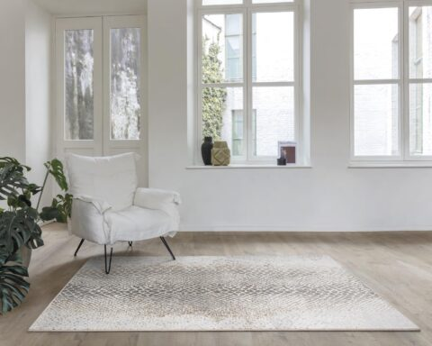 Salón con alfombra Osta Piazzo
