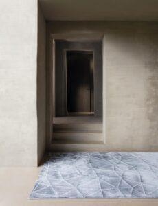 Entrada con alfombra Osta Sierra 456.09.900