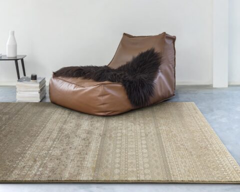 Salón con alfombra osta Zheva 65409.490