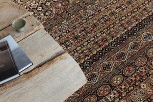 detalle de alfombra osta zheva 65409.090