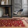 Salón con alfombra Osta Nobility 65.29.391