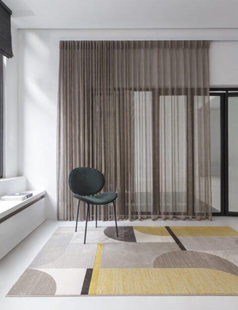 Oficina con alfombra Osta Patina 410-109-701